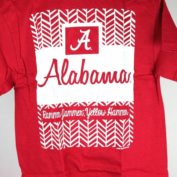 Other - Alabama Crimson Tide Herringbone T-Shirt